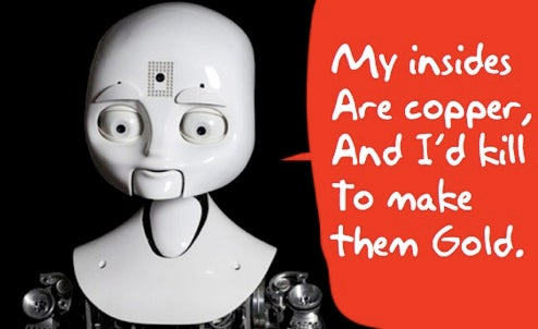 Nexi, The Social Robot From MIT Goes For the Emo Look