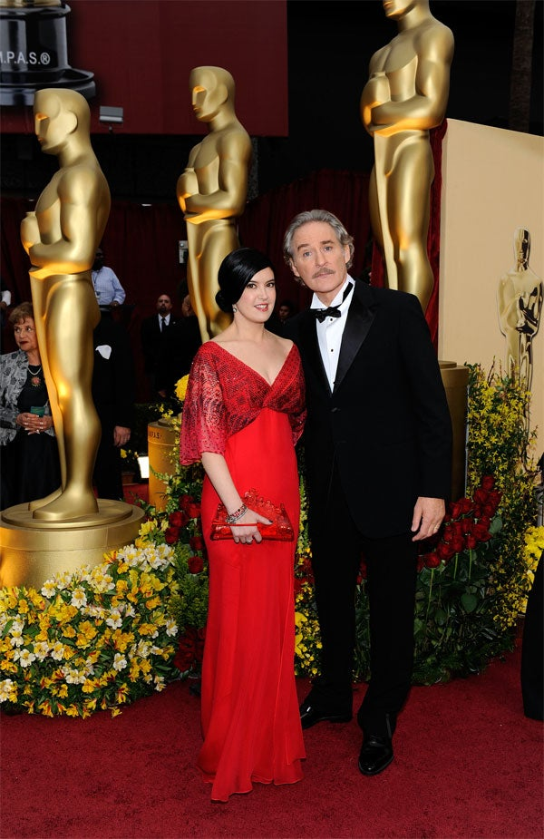 Kevin Kline And Phoebe Cates Stick Close