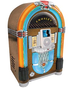 Crosley iJuke Miniature iPod Jukebox