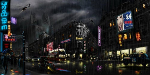 Concept art for Timeless shows what's left of future London