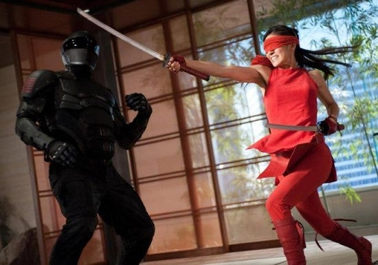 Ninjas Galore in G.I. Joe: Retaliation