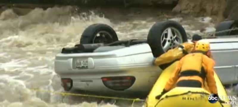 Man May Sue Rescuers Who Saved Him From Sinking Car For $500,000