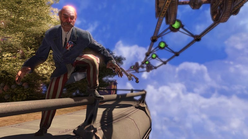 BioShock Infinite Goes Beyond The Sea & Into The Skies