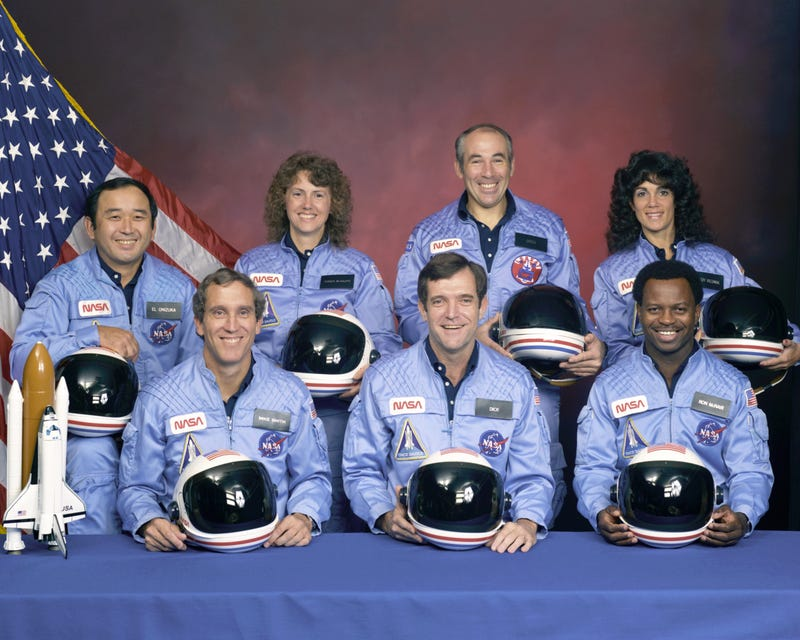 """""""Obviously a major malfunction."""" - The Challenger Disaster"""