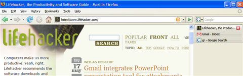 Optimize Firefox for the widescreen