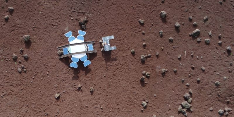 This Rover Isn't on Mars