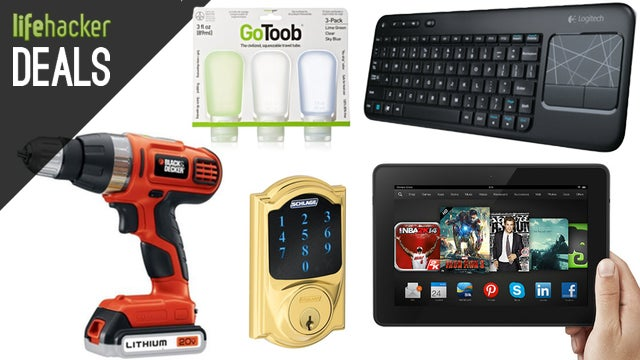 "Deals: $130 off 8.9"" Fire HDX, Chromebook with Free 4G, Smart Deadbolt"