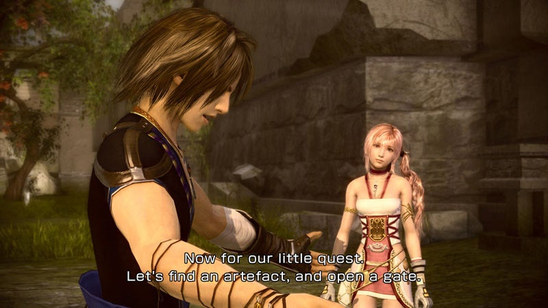 Final Fantasy XIII-2 Travels Through Time to Fix Past Missteps