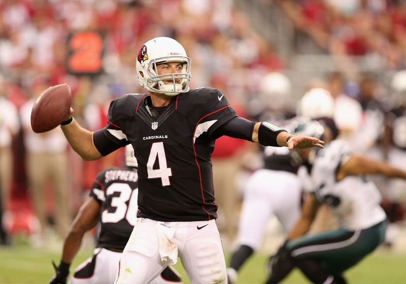 Kevin Kolb Hurt Himself At Practice By Slipping On A Rubber Mat