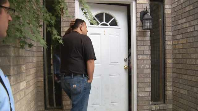 Strangers Moved Into a Man's House and Changed the Locks