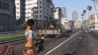 Este<i>mod</i> gratuito de <i>GTA V</i> hace disparar coches en vez de balas