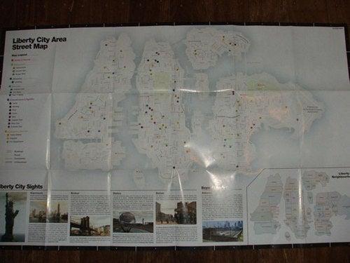 GTA IV Street Map Leaked