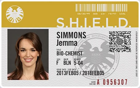 Meet the Agents of S.H.I.E.L.D. through their official ID badges