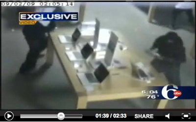 This Is How You Steal 23 MacBook Pros, 14 iPhones, and 9 iPods In 31 Seconds