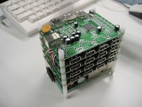 31 Port USB Hub, Why Not?