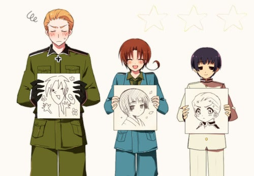 Axis powers drawing competition