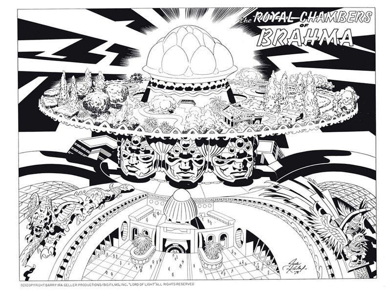 Lost Jack Kirby storyboards show the insane world that could have been Argo