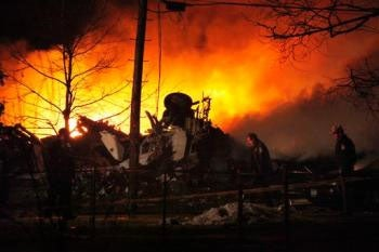 Plane Crash Kills 49 in Upstate New York