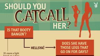 Playboy's Flowchart Teaches Decent Human Beings When to Catcall