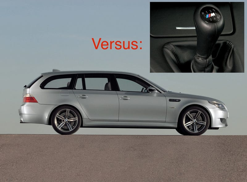 The ultimate Jalop dilemma - wagon or manual