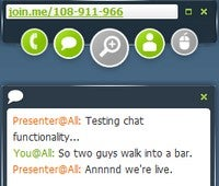 Join.me Is a Free One-Click Screen Sharing and Conferencing Tool