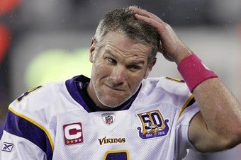 Favre Cops To Voicemails, Not Dick Pics