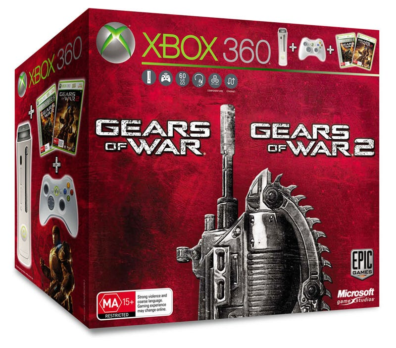Both Gears Of War Games Bundled With 360 Hardware