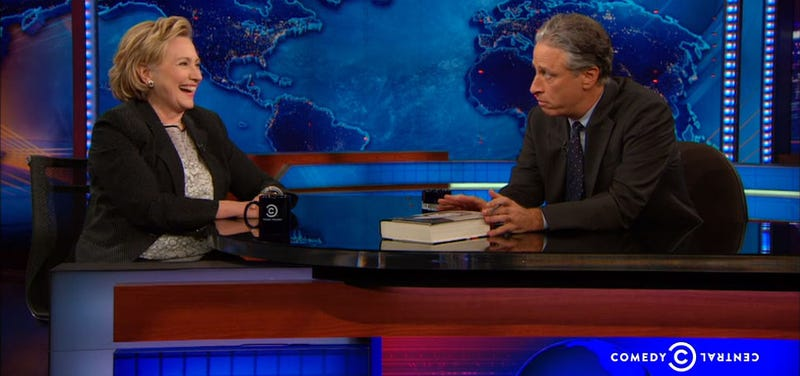 Hillary Clinton Admits to Liking Oval Offices on The Daily Show