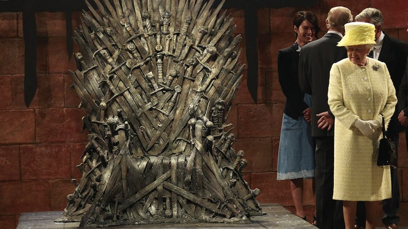 Queen Elizabeth Elects Not to Make a Play for the Iron Throne