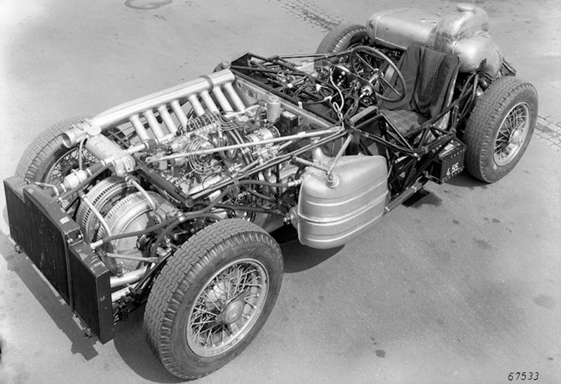 The Mercedes-Benz W196 Is Sexy Even When Naked
