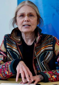 I Just Spoke to Gloria Fucking Steinem!