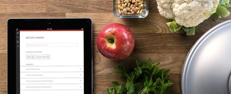 The World's Most Beautiful Cookbook Is Now a Beautiful App
