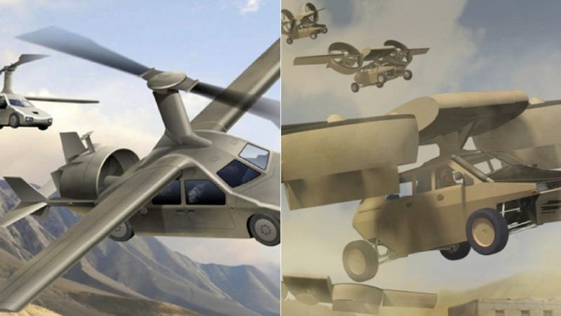 The Government Is Broke Because It Takes These Idiotic Flying Cars Seriously