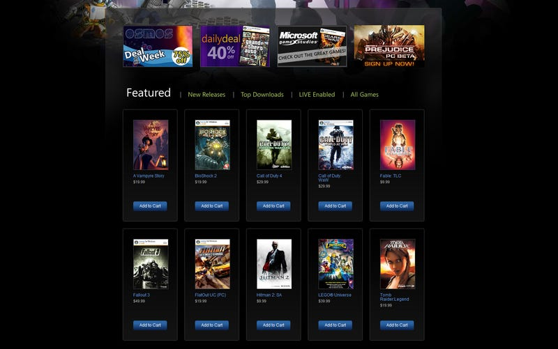 Can Microsoft's New Online Store Compete With Steam?