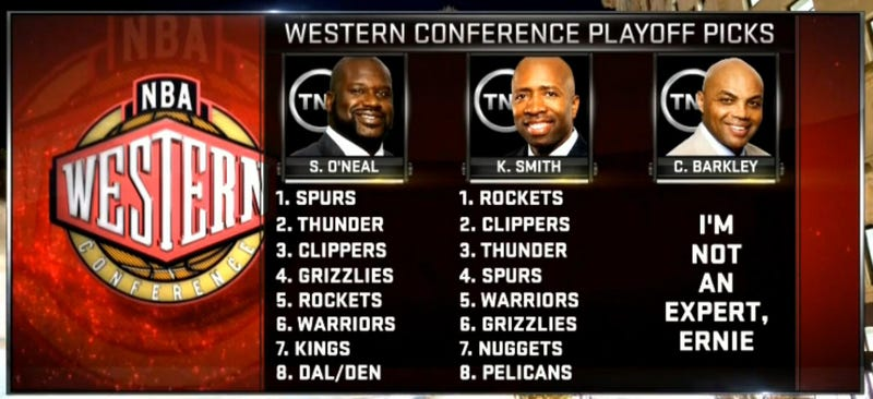 Charles Barkley Has The Most Accurate Playoff Picks