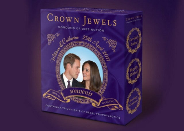 Sheath Your Excalibur With A Commemorative Royal Wedding Condom