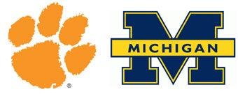 NCAA First Round: (7) Clemson vs. (10) Michigan
