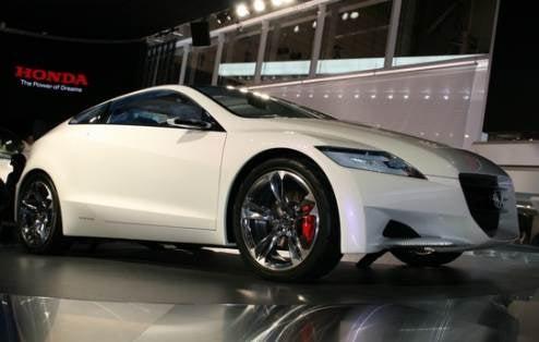 Hybrid Honda CR-Z Gets Green Light