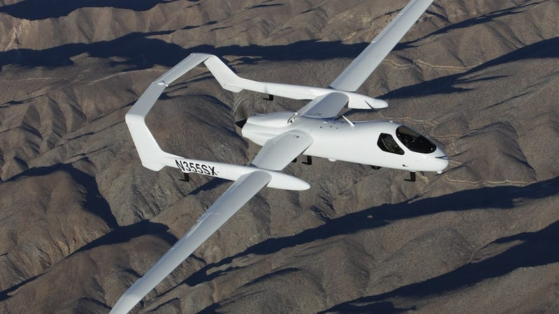 This Sensor-Packed Spy Plane Can Fly with or without a Pilot