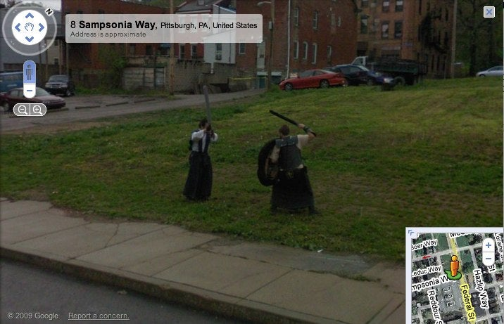 Medieval Ghosts in Google Maps - Again?