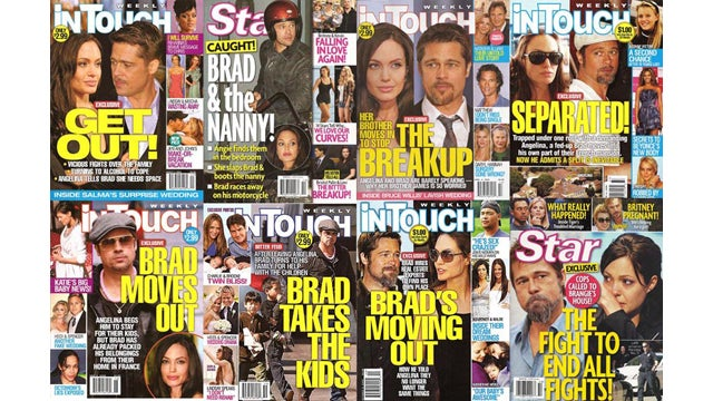 People Tired Of Buying Bullshit Celebrity Magazines