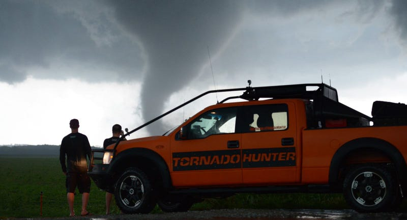 Storm Chasers On What It's Like To Take A Pickup Truck To A Tornado