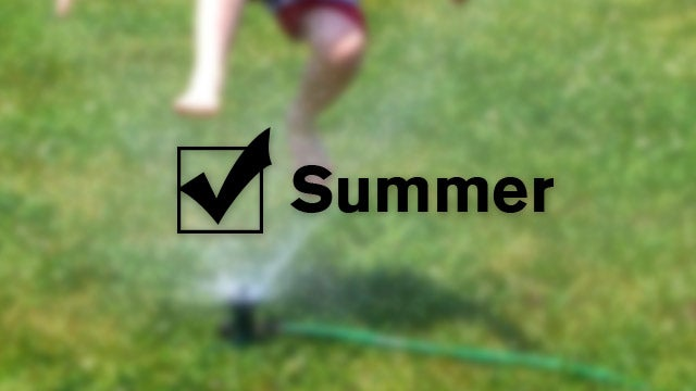Create an End of Summer Checklist to Remind You What You'll Need Next Year