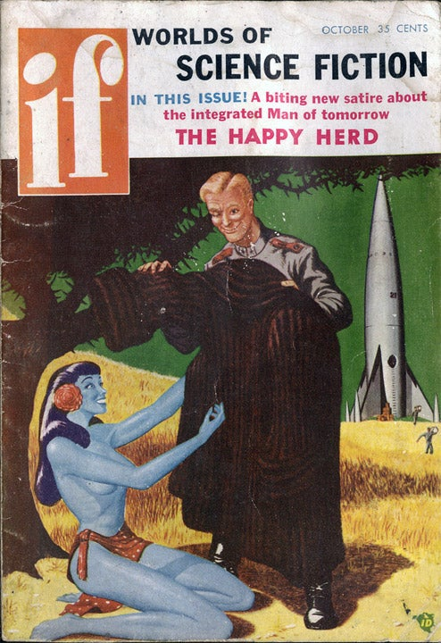 A Hidden Cache of Scifi Pulp History