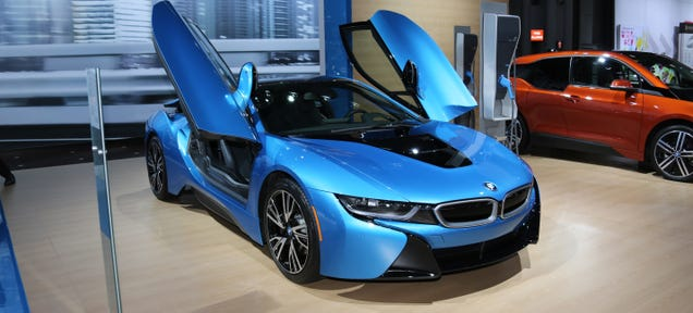 The BMW i8 Is Wonderful Because It Feels Like The Future