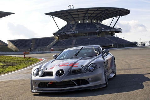 Mercedes-Benz SLR McLaren 722 GT Bound For US