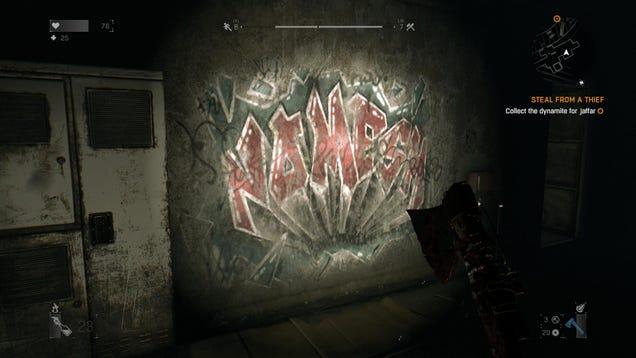 Good Job With The Graffiti,Dying Light