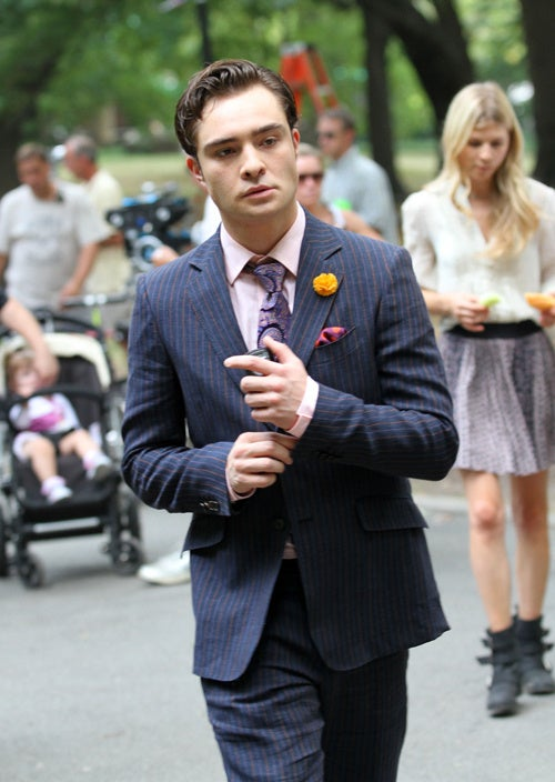 Chuck Bass Is About To Say Something Off The Cuff