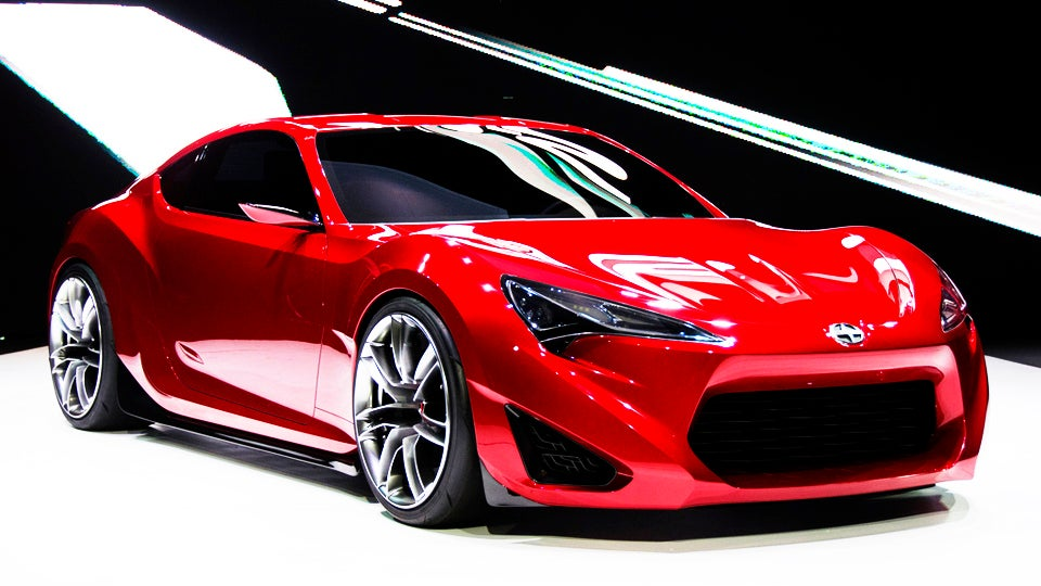 Scion FR-S: All The Specs