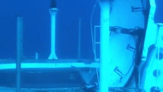 I just can't have enough of this awesome underwater missile launch